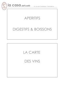 Page de garde boissons Vins